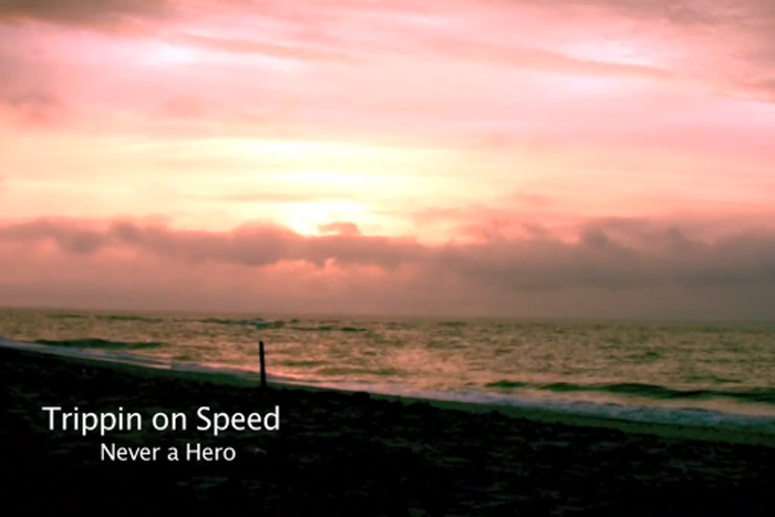 Music video for Never A Hero.